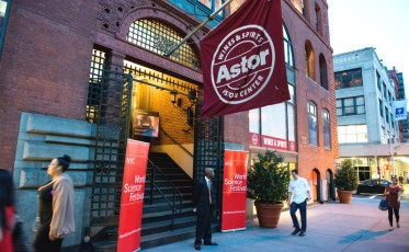 Astor Center set the stage for a night of culinary scientific experimentation.