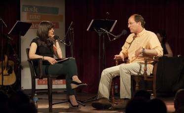 Host Ophira Eisenberg quizzes Steve Strogatz.