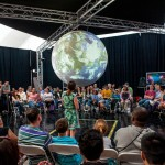 Science on a Sphere® at the Ultimate Science Street Fair