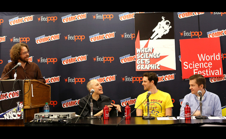 This year at NYCC, we brought together a group of authors and scientists for a conversation about how the art, science and storytelling of comic books and graphic novels can be a launch pad into worlds of scientific exploration and discovery.