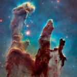 "The Eagle Nebula, dubbed ""Pillars of Creation."" Credit: NASA, ESA, and the Hubble Heritage Team (STScI/AURA)."