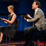 Cynthia Nixon and Paul Rudd at 'Dear Albert'