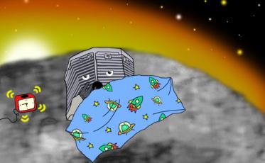 philae lander waking up_yawn update 3