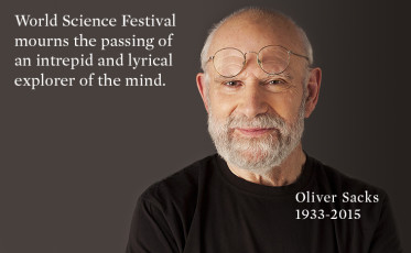 """In this 2007 photo provided by the BBC, Neurologist Oliver Sacks poses at a piano while holding a model of a brain at the Chemistry Auditorium, University College London in London.  Noted neurologist Oliver Sacks has found common ground with the pastor of Harlem's Abyssinian Baptist Church: Both men believe in the healing power of music. Sacks, the best-selling author of """"Awakenings"""" and """"The Man Who Mistook His Wife for a Hat,"""" was to share the church stage Saturday with the famed gospel choir as part of the inaugural World Science Festival, a five-day celebration of science taking place in New York this week. (AP Photo/BBC, Adam Scourfield) ** NO SALES **"""