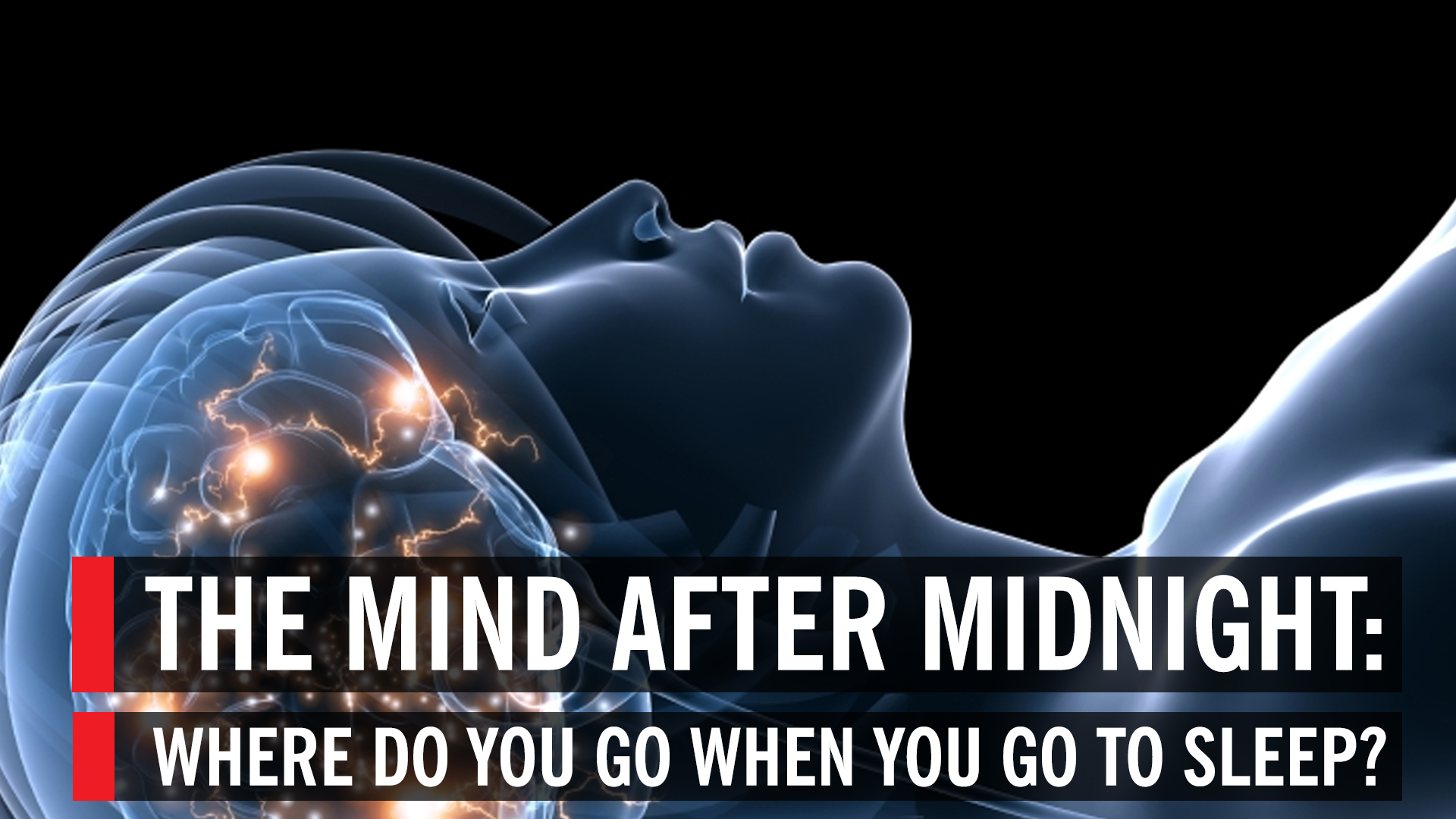 how to clear your mind to sleep