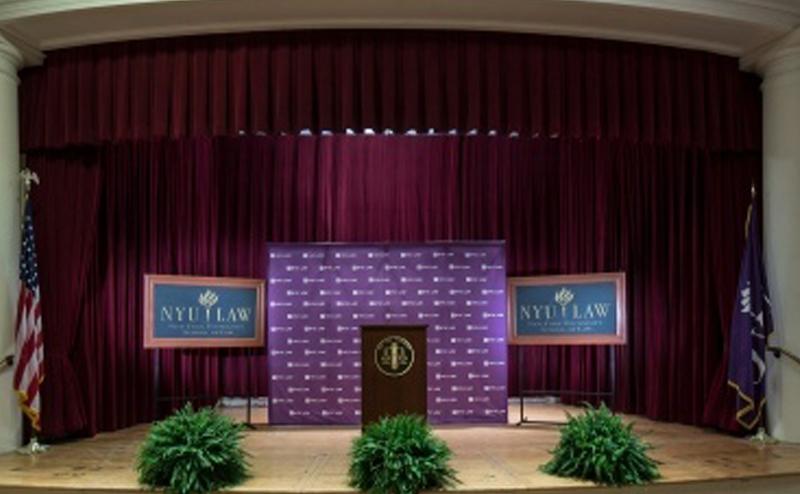 Tishman Auditorium, Vanderbilt Hall, NYU Law   World Science
