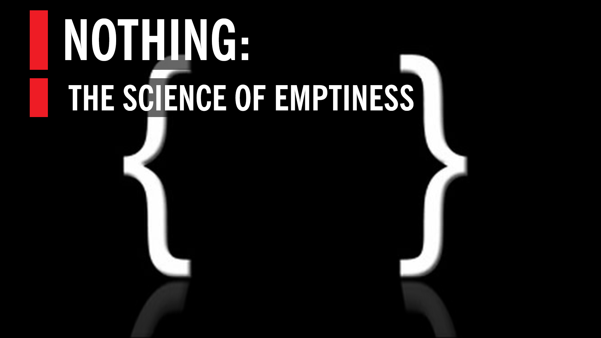 nothing the subtle science of emptiness world science festival